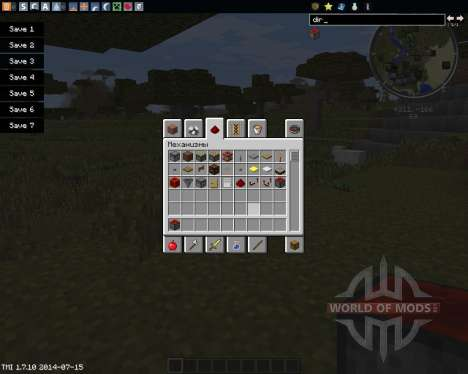Directional Redstone for Minecraft