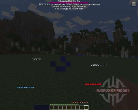 Advanced HUD for Minecraft