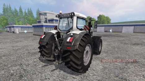 Fendt 933 Vario White Edition for Farming Simulator 2015