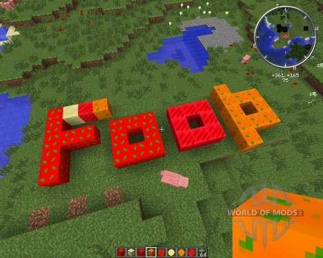 Condensed Foods for Minecraft