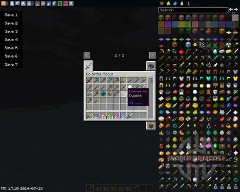 Colorful Tools for Minecraft