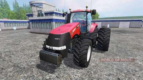 Case IH Magnum CVX 380 dynamic rear twin wheels for Farming Simulator 2015