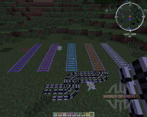 Expanded Rails for Minecraft