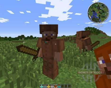 Steve Mod for Minecraft