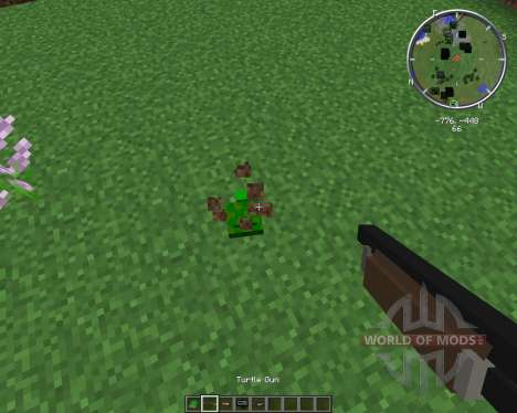 Turtle Gun for Minecraft