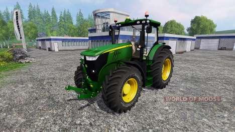 John Deere 7280R v2.0 for Farming Simulator 2015