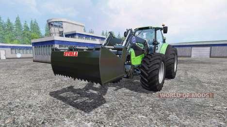 Deutz-Fahr Agrotron 7250 Forest King green for Farming Simulator 2015