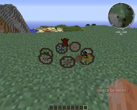 Animal Bikes for Minecraft