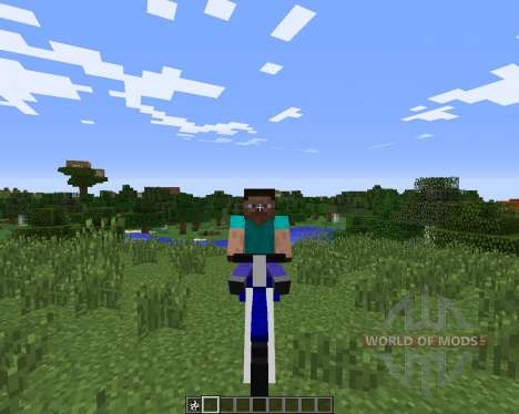 The Dirtbike for Minecraft