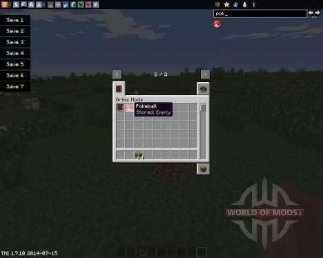 Pokeball for Minecraft