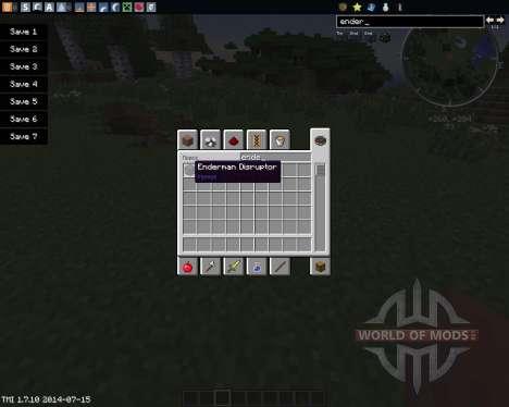 Enderman Disruptor for Minecraft