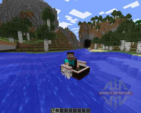 SteamBoat for Minecraft