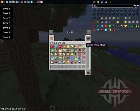 Slime Carnage for Minecraft
