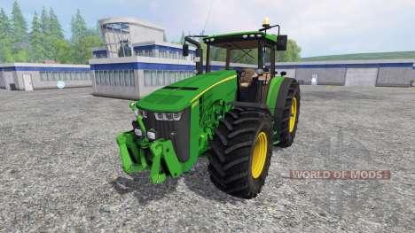 John Deere 8370R v3.0 [Ploughing Spec] for Farming Simulator 2015