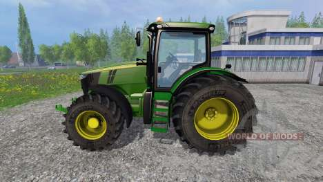 John Deere 7310R v2.1 for Farming Simulator 2015