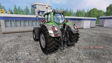 Fendt 933 Vario Green for Farming Simulator 2015