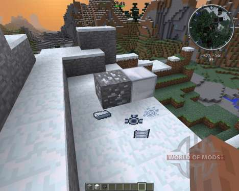 Movement Enhancement Suits and Armor for Minecraft