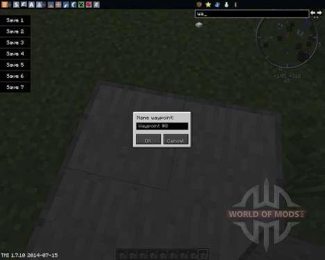 Waypoints for Minecraft