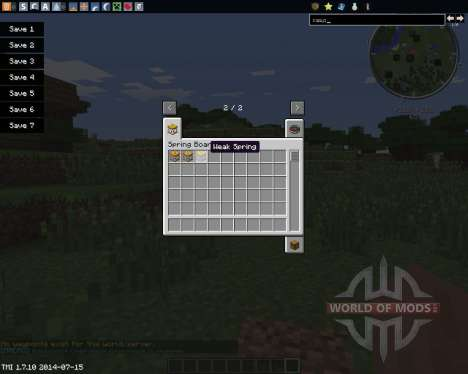 Springboards for Minecraft