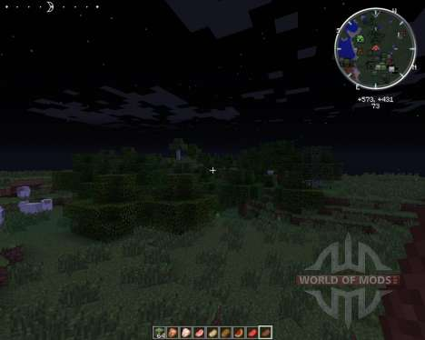 Clock HUD for Minecraft