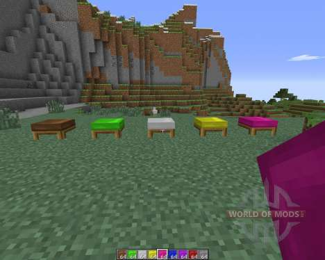 Dyeable Beds for Minecraft