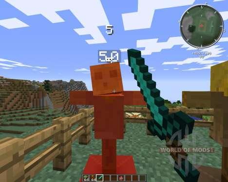 Test Dummy for Minecraft
