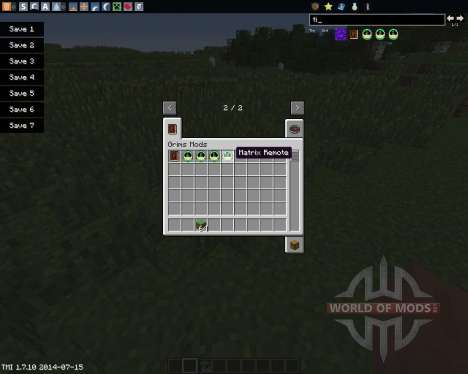 Time Control Remote for Minecraft