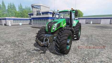 New Holland T8.320 620EVOX dark green v1.1 for Farming Simulator 2015