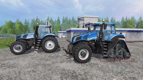 New Holland T8.320 and T8.435 SmartTrax for Farming Simulator 2015