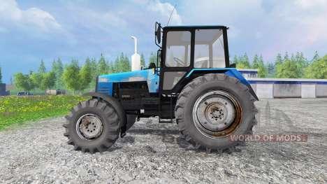 MTZ-1221 Belarusian v1.0 for Farming Simulator 2015