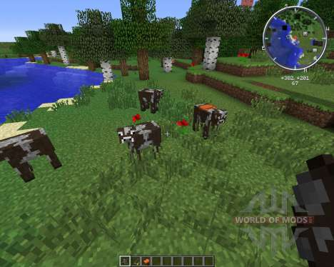 Rideable Cows for Minecraft