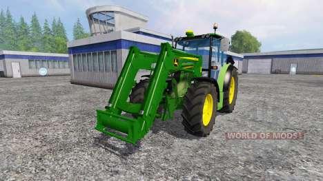 John Deere 6110RC Full for Farming Simulator 2015