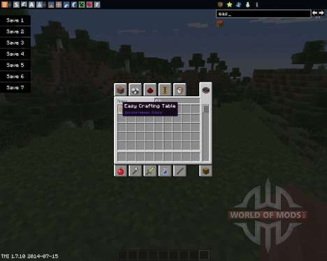 Easy Crafting for Minecraft