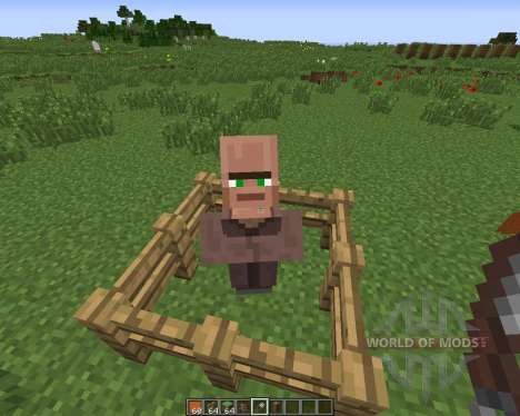 Villagers Nose for Minecraft