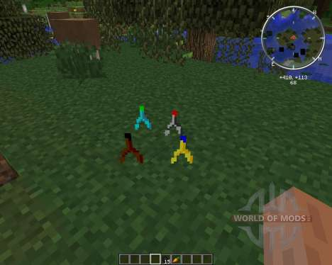 Ore Dowsing for Minecraft