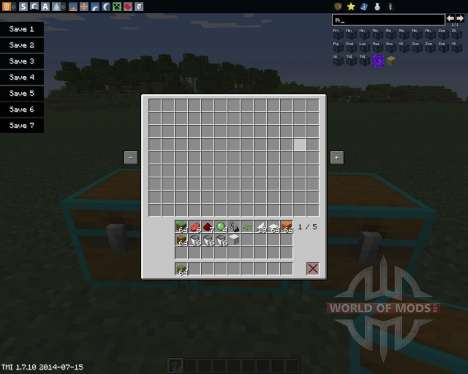 Multi Page Chest for Minecraft