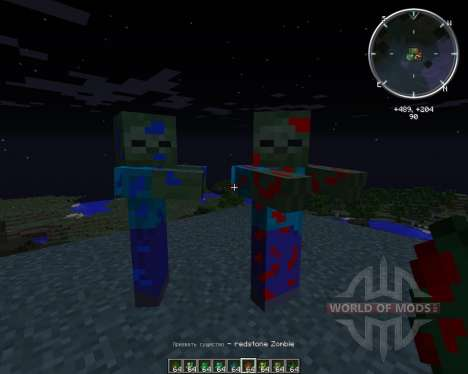 Ore Zombies for Minecraft