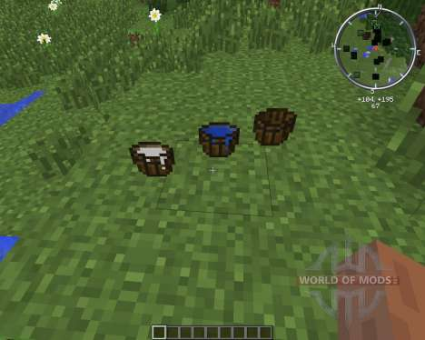 MC WoodenBucket for Minecraft