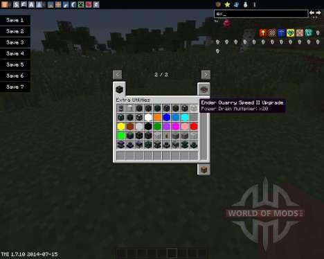 Extra Utilities for Minecraft
