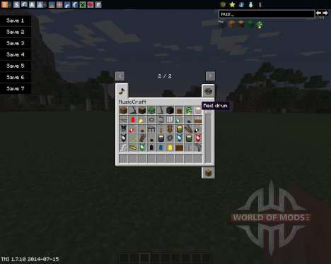 MusicCraft for Minecraft