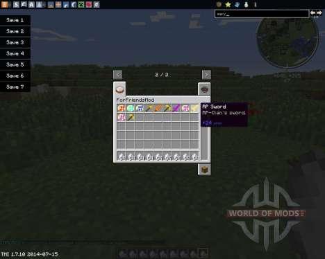 ForFriendsMod for Minecraft
