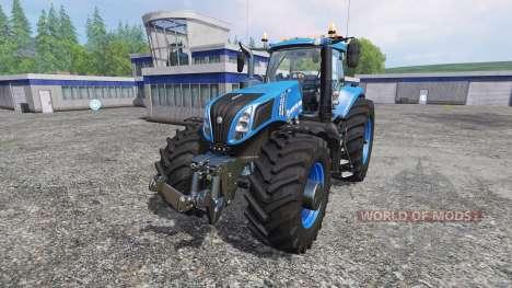 New Holland T8.320 620EVOX blue v1.1 for Farming Simulator 2015