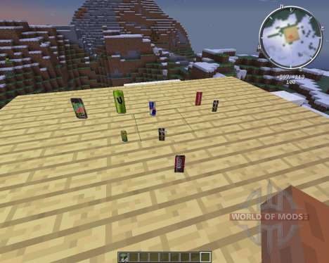 Energy Drinks for Minecraft
