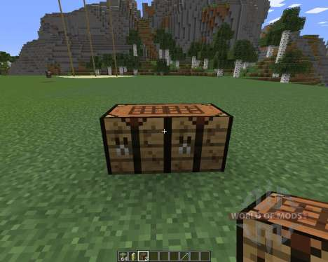 Extended Workbench for Minecraft