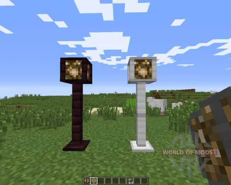 Lamp Posts for Minecraft