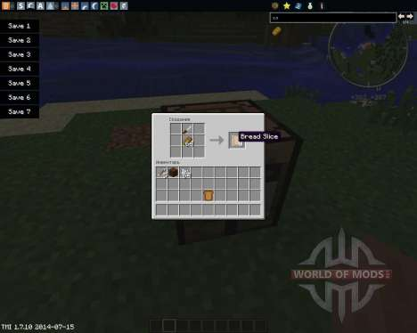 Sliced for Minecraft
