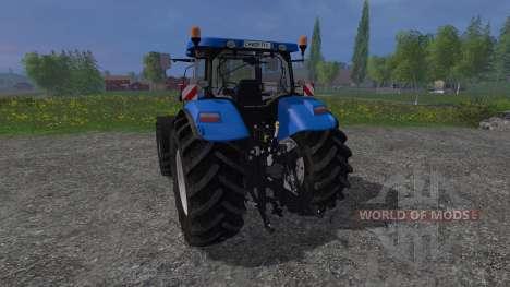 New Holland T7040 v2.0 for Farming Simulator 2015