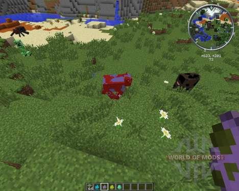 Elemental Cows for Minecraft