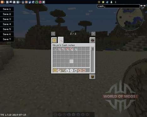 Ninjas Cash for Minecraft