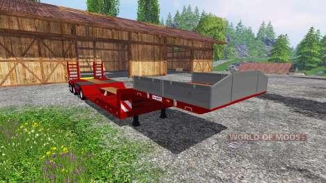Kaiser Porte Engin Forestier for Farming Simulator 2015
